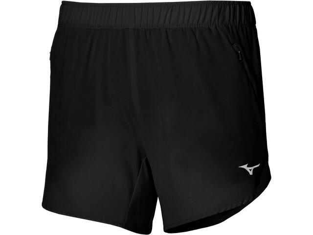 Mizuno Alpha 4.5 Shorts Damer, sort